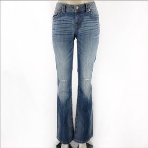 MISS ME Mid Rise Boot Jeans! Size 25.